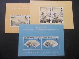 Korea, South, R.O.K.: Fine Art Series S/Ss In Mint, NH. OG. (#FF9A) - Corée Du Sud