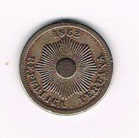 -&  PERU  1  CENTAVO  1863 - Peru
