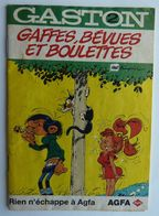 ALBUM BANDES DESSINEES PUBLICITAIRE AGFA  GASTON LAGAFFE FRANQUIN  T2 1996 (1) - Gaston