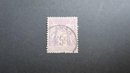 5 Fr Type Sage N° 95 Obliteration Tunisie Cote 150 € - 1876-1898 Sage (Type II)