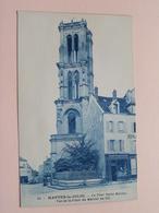 La Tour Saint-Maclou Vue De La Place Du Marché Au Blé ( 51 ) Boulangerie / Anno 19?? ( Voir Photo) ! - Mantes La Jolie