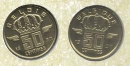 50 Cent 1990 Frans+vlaams * Uit Muntenset * FDC - 1951-1993: Baudouin I