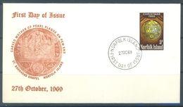 NORFOLK ISLAND - FDC - 27.10.1969  - Yv 104 ASC 105 - Lot 17480 - Ile Norfolk