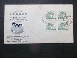 Korea, South, R.O.K.: 1962 UnAd. ILLustrated Cover W/Favor Postmarks (#FF17) - Corée Du Sud