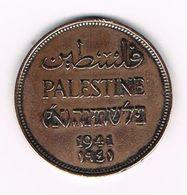 -&   ISRAEL PALESTINE  2 MILS   1941 - Israel