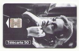 TELECARTE 50 UNITES TELEPHONE ET CINEMA JEANNE MOREAU 10/96 - 1996
