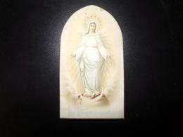 La Vierge Immaculée Sur Support Cartonné - Images Religieuses