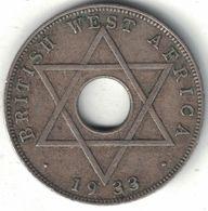 British West Africa Half Penny 1933 - Colonies