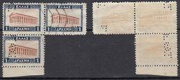 GRIECHENLAND 1927 -  MiNr: 311 Perfin  Used - Griechenland