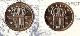 5 Frank 1997 Frans+vlaams * Uit Muntenset * FDC - 01. 50 Centimes
