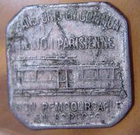 Transport En Commun Région Parisienne (75) 25 Centimes - Monetary / Of Necessity