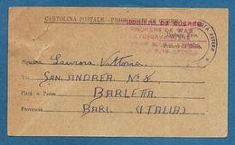 ITALIAN PRISONER OF WAR CAMP UNION SOUTH AFRICA  PRIGIONIERI DI GUERRA 1943 - Documents