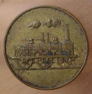 Gare D'Is-sur-Tille (21) 5 Centimes - Monetary / Of Necessity