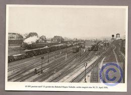 Deutschland - AK - Eisenbahn Train - Dampflok 03 093 - Bahnhof Hagen-Vorhalle - Eisenbahnen