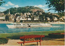 (DE1754) LINZ AM RHEIN. SHIP. BATEAU - Linz A. Rhein