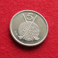 Isle Of Man 5 Pence 1995 AA KM# 392  Ile De Man Isla De Man Isola Di Man - Regional Coins