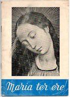 12 Liederen En Partituuur   Maria Ter Ere 31 Blz Ingeleid Door Anton Van Wilderode Boekje - Books, Magazines, Comics