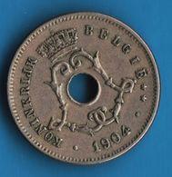BELGIQUE 5 CENTIMES 1904 KM# 55 KONINKRIJK BELGIË - 03. 5 Centimes