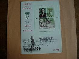 Belgique: BF 40/41 Sur Carte 1er Jour. Musée De La Dynastie. La Reine Elisabeth. - Bloques 1962-....