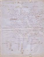 DRÔME - DIEULEFILS - CHIFFONS & POTERIE - MARC COURSANGE - LETTRE - 1863 - France