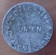 Chalon Sur Saône (71) 5 Centimes COOPÉRATIVE UNION - Monetary / Of Necessity
