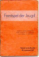 Liederen Met Partituur  Feestspel  Der Jeugd Dierentuin Antwerpen  Blz 32 Boekje - Antiguos