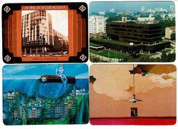 Portugal ,  ALIANÇA SEGURADORA ,  1986 , 1987 , 1988 , 1989 , Calendar , Calendrier , Insurance , Assurance , Seguros - Calendari