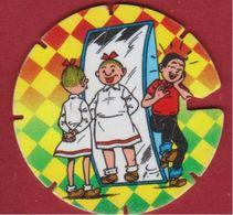 1995 Flippo Nr. 62 Persil Strip Stripfiguur Suske En Wiske Vandersteen Willy Comics Bande Dessinée - Advertising