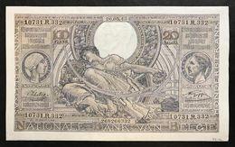 Belgio Belgium  100 Francs - 20 Belgas 26 05 1943 Q.fds Lotto 1935 - [ 2] 1831-... : Belgian Kingdom