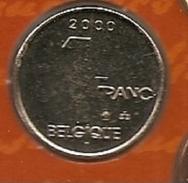 1 Frank 2000  Frans * FDC * ALBERT 2 * - 1993-...: Albert II