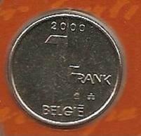 1 Frank 2000 Vlaams * FDC * ALBERT 2 * - 1993-...: Albert II