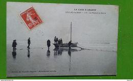 CPA - SOULAC-sur-MER -173 - La Pêche à La Senne - Soulac-sur-Mer