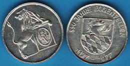 EGGENFELDEN 850 JAHRE 1127 - 1977 LION - Duitsland