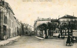 """CPA """"SAINT MIHIEL  """" Place Des Regrets - Saint Mihiel"""