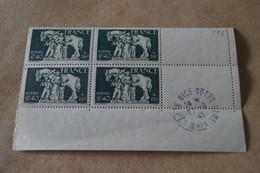 Superbe Feuillet De 4 Timbres,strictement Neuf Avec Gomme,1943,Famille Du Prisonnier,N° 586 - Neufs
