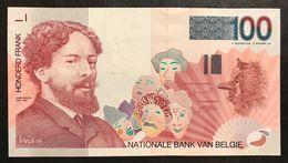 Belgio Belgium  100 Francs 1995-2001 Q.fds Lotto 1939 - [ 2] 1831-... : Belgian Kingdom
