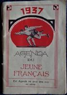 Agenda Du Jeune Français - 1937 . - Kalender