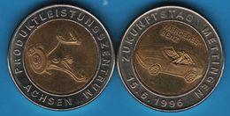ZUKUNFTSTAG METTINGEN MERCEDES BENZ 15.6.1996 Produktleistungszentrum Achsen - Professionals/Firms
