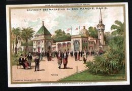 Chromo Au Bon Marche, MI1, Exposition Universelle 1889, Tunisie - Au Bon Marché