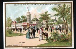 Chromo Au Bon Marche, MI1, Exposition Universelle 1889, L'Algerie - Au Bon Marché