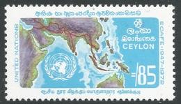 Ceylon. 1972 25th Anniv Of ECAFE. 85c MNH. SG 590 - Sri Lanka (Ceylon) (1948-...)
