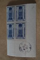 Superbe Feuillet De 4 Timbres,strictement Neuf Avec Gomme,1944,Beauvais,N° 666 - Neufs