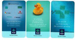 Portugal ,  MEDIS ,  2000 , 2001 , 2002 ,  Calendar , Calendrier , Insurance , Assurance , Seguros - Small : 2001-...