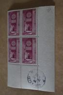 Superbe Feuillet De 4 Timbres,strictement Neuf Avec Gomme,1944,Chartres,N° 664 - France