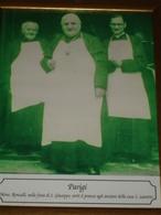 1944/53 Mons.Roncalli PAPA GIOVANNI XXIII° Nunzio Apo.PARIGI Serve Pranzo Anziani Casa S.Laurent/fotografia Da Quadretto - Godsdienst & Esoterisme