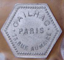Jeton Bal Gailhac Paris Bon Pour Une Danse - Monetary / Of Necessity