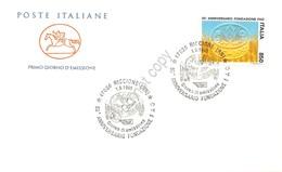 FDC Cavallino Italia 1995 - Fondazione Della FAO - Annullo Figurato ** - Francobolli