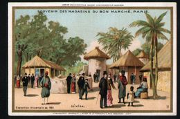Chromo Au Bon Marche, MI1, Senegal - Au Bon Marché