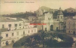 Ah335 - Castellammare Di Stabia - Napoli - Piazza Duomo - 1933 - Napoli (Napels)