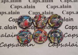 6 BELLES CAPSULES CHAMPAGNE GENERIQUE CUVEE GRAFITTI NEWS - Collections